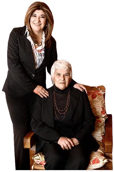 Foto Gloria Sosa y su madre