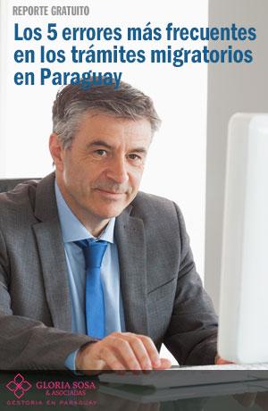 Tapa Reporte gratuito los errores más comunes en los trámites y gestiones migratorios en Paraguay