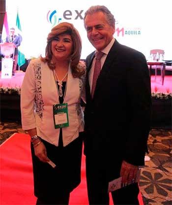 Gloria Sosa y Carlos Tilkian